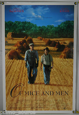 Of Mice And Men Rolled Orig 1Sh Movie Poster John Malkovich Gary Sinise (1992)
