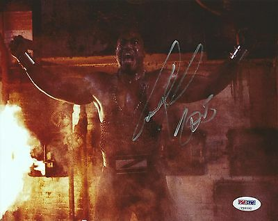 Tiny Lister Zeus Signed 8x10 Photo PSA/DNA COA WWE No Holds Barred Picture Auto