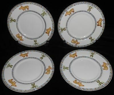 Set (4) Epoch SOUTHWESTERN/INDIAN PATTERN Dessert/Bu0026B Plates & Porcelain Dinnerware China u0026 Dinnerware Pottery u0026 China Pottery ...