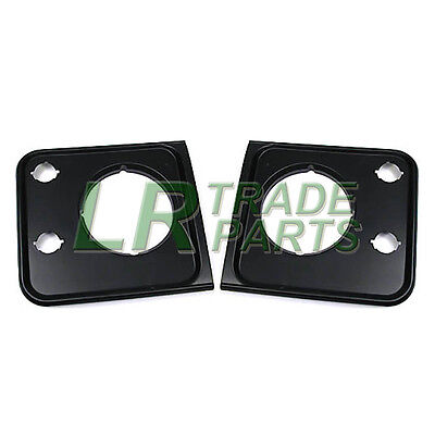 Land Rover Defender New Front Lhs & Rhs Headlamp Surround Set, Light Surrounds