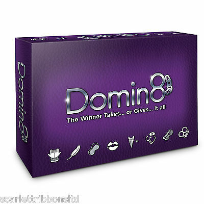 DOMIN8 ADULT GAME NOT DOMINATE or MONOGAMY Fun & Sexy Non Gender LOVE Game BNIB