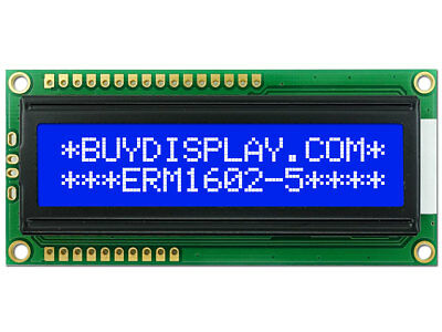 5V Blue Serial SPI 16x2 Character LCD Display Module w/Tutorial,Bezel,Backlight