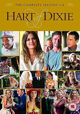 HART OF DIXIE Stagioni 1-4 Serie Complete BOX 17 DVD in Inglese NEW .cp
