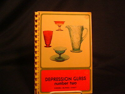 Illustrated Depression Glass Reference Book #2 In Color In English