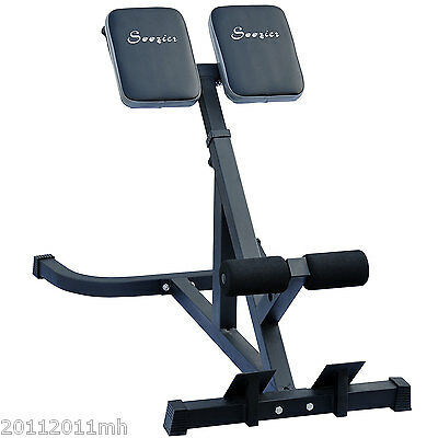 Ab Bench Roman Chair Hyperextension Abdominal Machine Bench Exerciser New