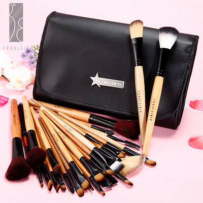 Fraulein 38 31 Professionali Cosmetici Pennelli Make-up Brush set Custodia Nero