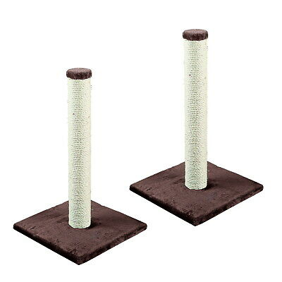 Heritage Cat Kitten Scratching Pole Post Tree Scratcher Scratch Sisal Activity