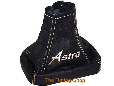For Vauxhall Opel Astra G Gear Stick Gaiter Embroidery Cream Stitch Boot Cover