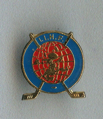 Rare Official International Ice Hockey Federation badge pin