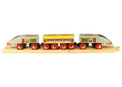 Bigjigs Toys - Bullet Train NEW * wooden railway rail model