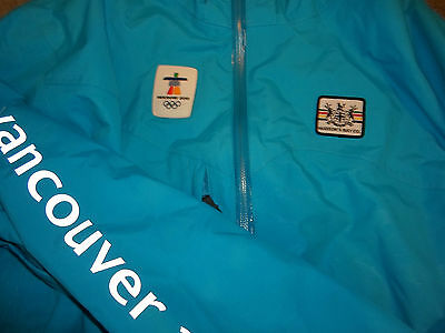 2010 Vancouver Winter Olympics Authentic Games Ski Jacket Size 2XL