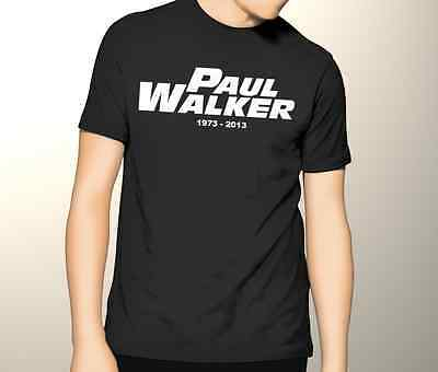 Paul Walker RIP T Shirt Fast and the Furious Brian O'Conner