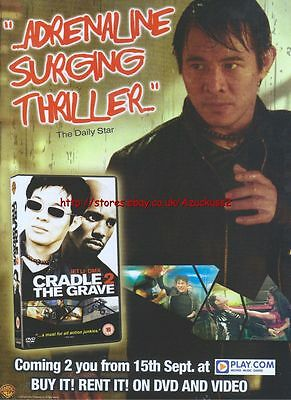 Cradle To The Grave DVD & Video 2003 Magazine Advert #96