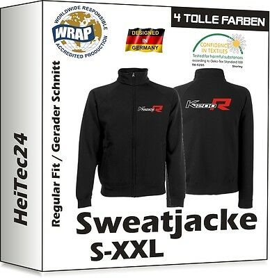 Sweat Jacke Shirt K1200R  Fruit Of The Loom f. BMW Motorrad Fans