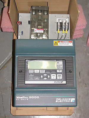 New Reliance Electric 3 HP DC Drive - Model # 3WR4012