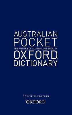 AUSTRALIAN POCKET OXFORD DICTIONARY 7th Edition BNew HB kids primary teacher res