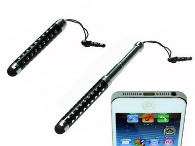 Touch Pen Eingabe Stift Black für iPhone HTC Samsung iPad ipod Apple Tablet Tab