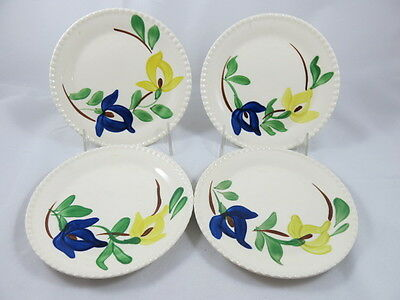 Blue Ridge Southern Potteries Set of 4 Bread and Butter Plates