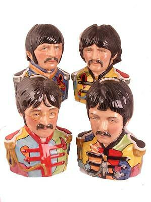 Bairstow Pottery  Beatles (Large Size) Legends of Rock & Roll Character Jugs L E