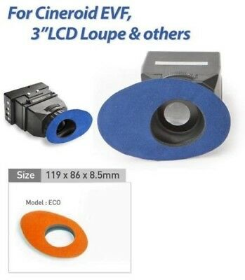 Cineroid Soft Eyecup Cover for LCD Viewing Loupe for Canon EOS 1 DX / 1 DC / 5D