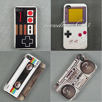 Deluxe Fashion Retro Stlye Glossy For Apple Iphone4 5S Hard Back Skin Case Cover