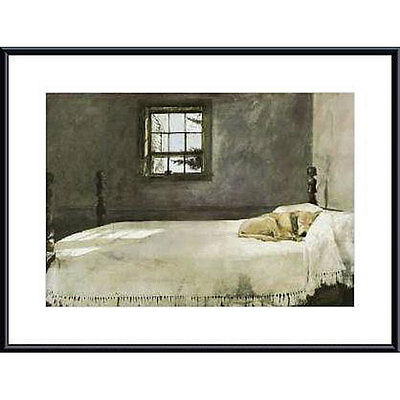 Master Bedroom Andrew Wyeth Dog On Bed Sleeping