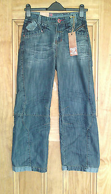 "Dead Or Alive New Boys / Mens Quality Stonewashed Jeans Waist 25"" - 28"" Bnwt"