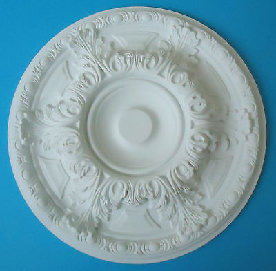 Ceiling Rose Strong Lightweight Resin (Not Polystyrene) Size 485mm 'Cadenza'