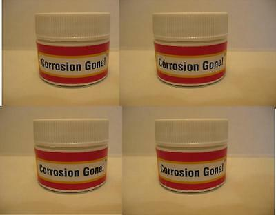 CORROSION GONE! 4-PACK LOT - Cleans Battery Corrosion