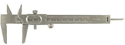 "FAITHFULL 125mm (5"") DIY STAINLESS STEEL THREE WAY VERNIER CALIPER"