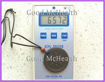 Provide ion TEST VIDEO  6000 ~ 7000 negative ions Quantum Scalar Energy Pendant