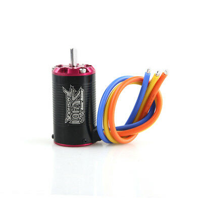 Tenshock 1:10 Short Course 4 Pole Sensorless RC Brushless Motor SC401V2-3400KV