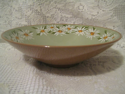 """Taylor Smith Taylor LAZY DAISY 2 Round Serving Bowls 8 3/4"""" Excellent"""