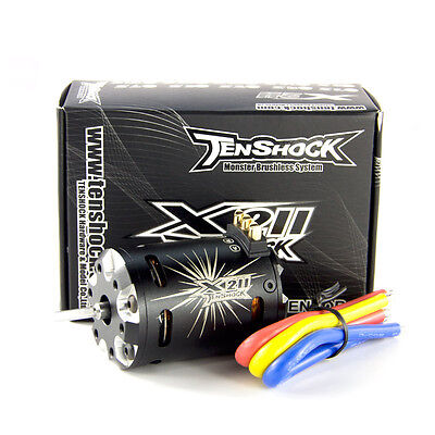 Tenshock 1/10 Off/On Road Buggy 4 Pole Sensor Brushless Motor X211/7.5T