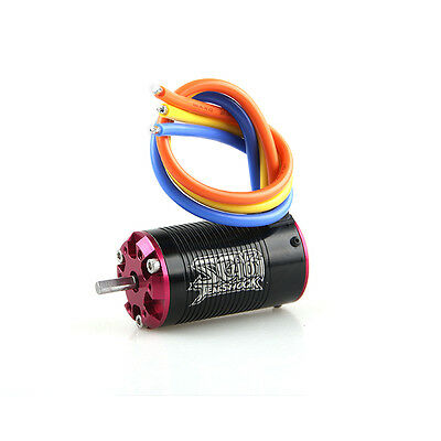Tenshock 1:10 Short Course 4 Pole Sensorless RC Brushless Motor SC401V2-3800KV