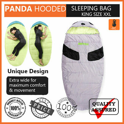 New Panda -5 Degrees 300T King Size XL Extra wide Sleeping bag Super Comfy Soft