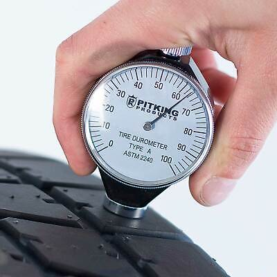 PitKing Products Analogue Tyre/Tire Durometer - Race/Racing/Rally/Karting