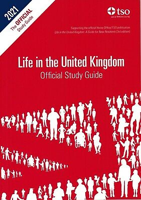 New Life in the UK Citizenship Test The Official Study Guide MARCH 2020 Book Std