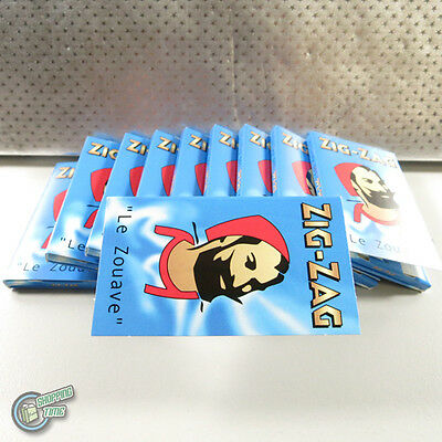 ZIGZAG ZIG ZAG Slow Burn Cigarette Tobacco Rolling Paper Papers Roller Roll RYO