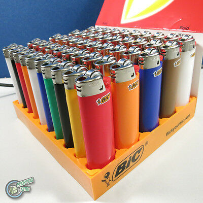 Bic cigarette lighters wholesale display of fifty, no.1 lighter in Australia