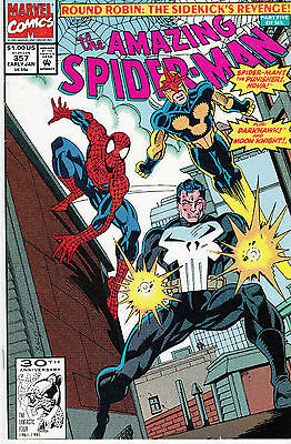AMAZING SPIDERMAN 357...VF/NM...1992...Sidekicks Revenge Pt.5!...Bargain!