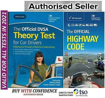 DSA Theory Test for Car Drivers 2019 Test Book + Highway Code Book*Hw+Thr