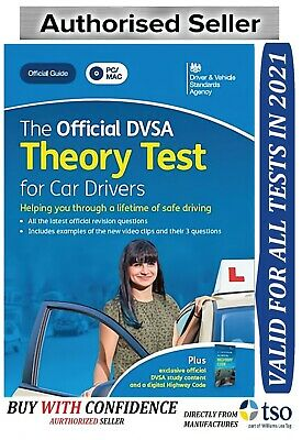 The Official DSA Theory Test for 2019 Car Drivers PC DVD ROM PC MAC *Theory Dvd