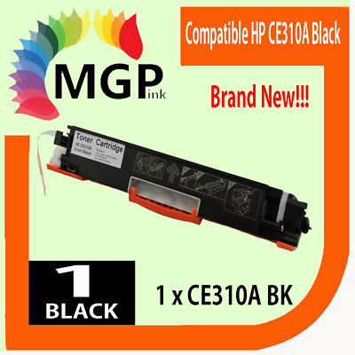 1x BLACK Toner Cartridge CE310A for HP Laserjet CP1025 CP1025nw M175A Pro 100