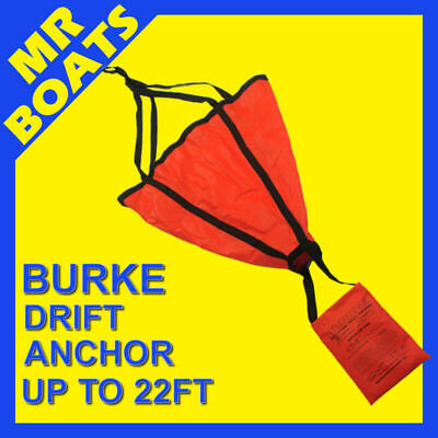 BURKE SEA ANCHOR Drifting LARGE Suits up to a 22ft Boat ✱QUICK DRY✱ FREE POSTAGE