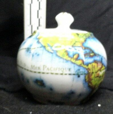 "Paul Cardew ""Globe"" Sugar Bowl, Excellent Condition, NIB, Beautiful"
