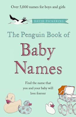 The Penguin Book of Baby Names by Pickering, David Paperback Book The Cheap Fast