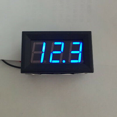 4.5~30V Blue LED Auto Digital Gauge Volt Voltage Panel Meter  Panel Meter Gauge