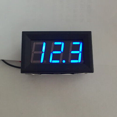 Blue LED Auto Digital Gauge Volt Voltage Panel Meter  Panel Meter Gauge 4.5~30V
