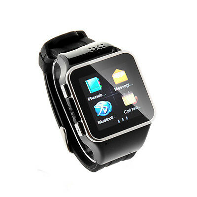 "S2 1.54"" Wrist Watch Phone Bluetooth Capacitive Screen Java GSM Watch Cell Phone"